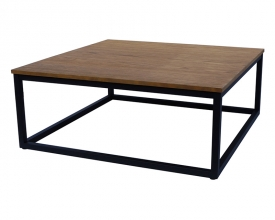 Indus square coffee table
